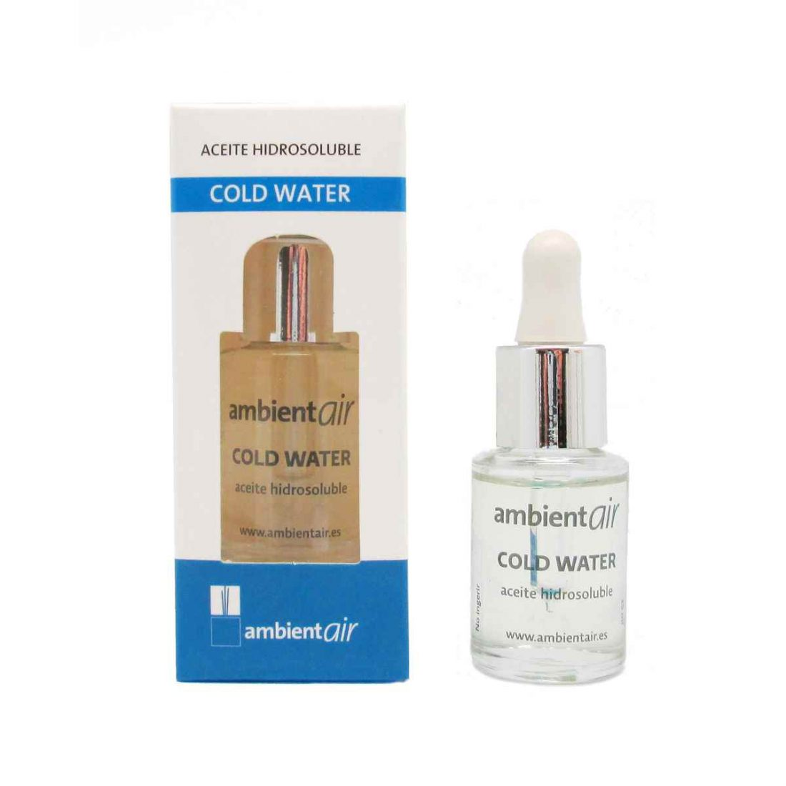 Ambientair · Aceite esencial · Cold water
