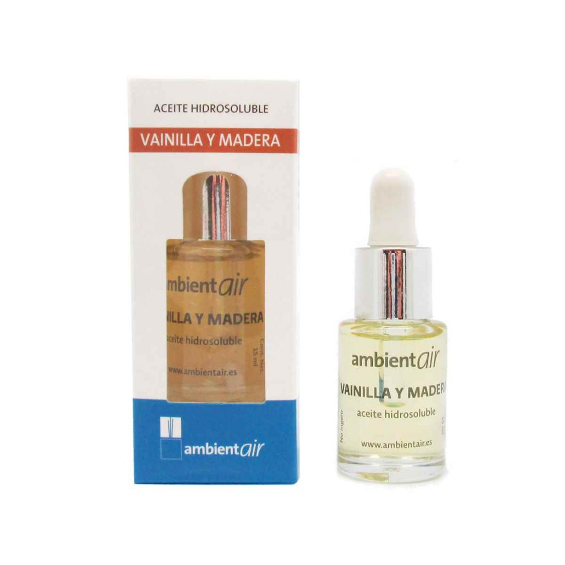 Ambientair Classic Aceite esencial Aroma Vainilla Madera 15ml